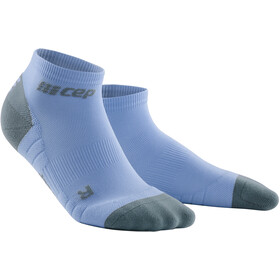 cep 3.0 Low Cut Socks Women sky/grey